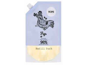 Yope Tekuté kúpeľňové mydlo Fík náhradná náplň 500ml