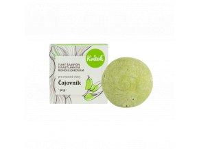 Kvitok Přírodní tuhý šampón s kondicionérem Čajovník pro mastné vlasy XXL 50 g