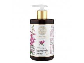 Flora siberica Šampón pre jemné vlasy bez objemu Luxusné objem 480ml