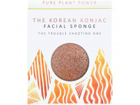 The Konjac Sponge Company Element oheň s vulkanickým prachom 1ks