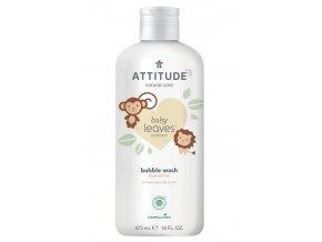 Attitude Baby Leaves Detská pena do kúpeľa s vôňou hruškovej šťavy 473 ml