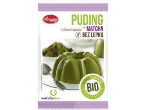 Matcha Tea BIO Puding matcha ananásový bez lepku 40g