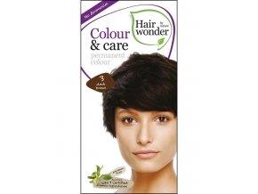 Hairwonder Dlhotrvajúca farba Bio Tmavá hnedá 3