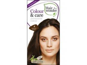 Hairwonder Dlhotrvajúca farba Bio Stredne hnedá 4 100ML