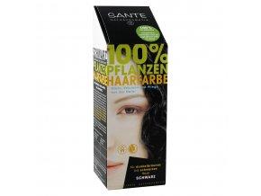 Sante Rastlinná farba na vlasy Čierna Bio 100g
