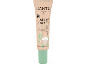 Sante Hydratačný 24h make-up 01 slonovina 30ml