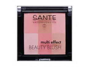 Sante Lícenka Multi Effect Beauty Blush 01 koralová 8g