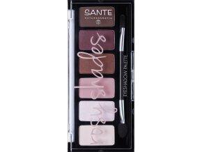 Sante očné tiene paletka rosy shades 6g