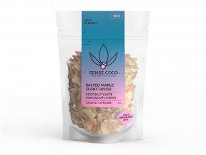 SENSE COCO Kokosové chipsy slaný javor Bio 40g