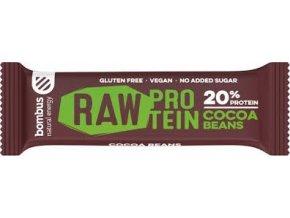 Bombus Raw energy 20% proteín kakaové bôby 50 g