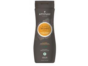 Attitude Super leaves Prírodné šampón & telové mydlo 2in1 pre mužov s detoxikačným účinkom - normálne vlasy 473 ml