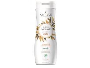 Attitude Super leaves Prírodné šampón s detoxikačným účinkom - lesk a objem pre jemné vlasy 473 ml