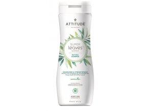 Attitude Super leaves Prírodné šampón s detoxikačným účinkom - vyživujúci pre suché a poškodené vlasy 473 ml