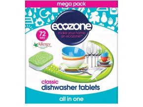 Ecozone Tablety do umývačky 5in1 72ks