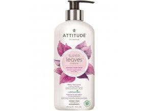 Attitude Super leaves Prírodné mydlo na ruky s detoxikačným účinkom - čajové listy 473 ml