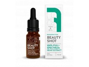 You & Oil Beauty Shot 100% Regeneračné konopné sérum 10ml