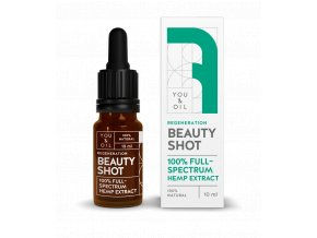 You & Oil Beauty Shot 100% Regenerační konopné sérum 10ml