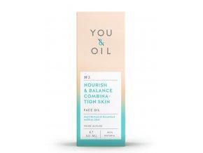 You & Oil Pleťový olej pre mastnú a zmiešanú pleť 50ml