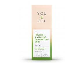 You & Oil Pleťový olej pre suchú a dehydrovanú pleť 50ml