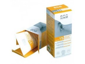 Eco Cosmetics Opaľovací krém SPF 15 BIO 75 ml