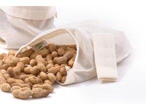 Casa Organica Plátěný sáček na potraviny z biobavlny Malý 1 ks