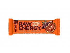 Bombus Raw energy pomaranč a kakaové bôby 50 g