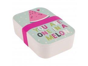 Portobello By Inspire Bambusový desiatový box Melon