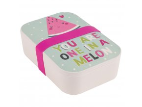 Portobello By Inspire Bambusový svačinový box Melon