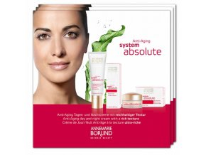 Annemarie Börlind Vzorka Absolute System Anti-aging 4x2ml