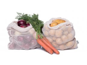 Casa Organica Síťový sáček na potraviny z biobavlny – střední 1 ks
