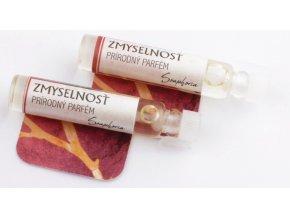 Darček k nákupu produktov značky Soaphoria nad 18 Eur Soaphoria prírodný parfém Smyselnosť