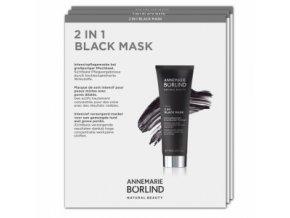 Annemarie Börlind Vzorka Čierna maska 2v1 2ml