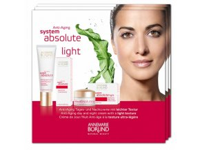 Annemarie Börlind Vzorka Absolute System Anti-aging LIGHT 4x2ml