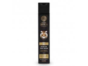 Natura Siberica Energizujúci šampón na vlasy a telo 2v1 Neskrotnosť tigra 250 ml
