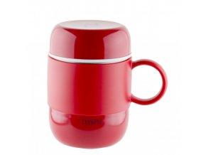 Pioneer DrinkPod Termohrnek s ouškem Červený 280 ml