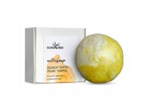 Soaphoria Tuhý šampón na poškodené vlasy NutriShamp 60 g
