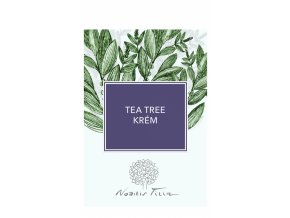 Nobilis Tilia VZOREK Tea tree krém 2 ml