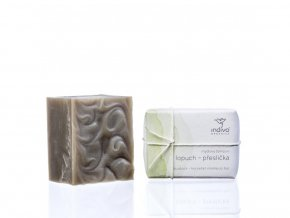Indívo Tuhý šampon lopuch přeslička 130 g
