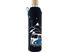 Drinkit Skleněná láhev s neoprénovým obalem Freerider 500 ml
