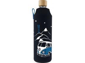 Drinkit Skleněná láhev s neoprénovým obalem Freerider 700 ml