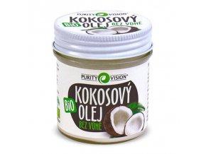 Darček k nákupu Purity Vision Kokosový olej bez vône Bio 120 ml