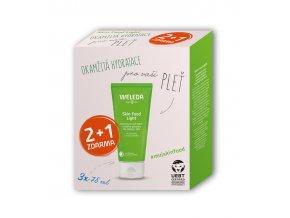Weleda Univerzální výživný krém Skin Food Light Multipack 2+1
