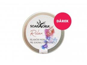 Darček k nákupu produktov značky Soaphoria nad 15 Eur Soaphoria Pleťová maska