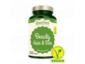 GreenFood Beauty Hair & Skin 60 kapslí