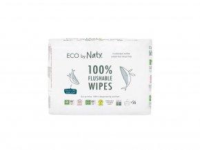 Eco by Naty Babycare Výhodné balení Vlhčené ubrousky bez vůně pro citlivou pokožku 3 x 56 ks