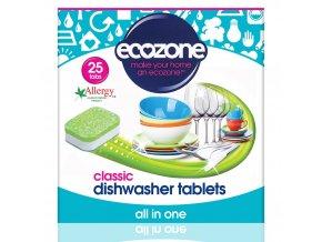 Ecozone Tablety do myčky Classic 25 ks
