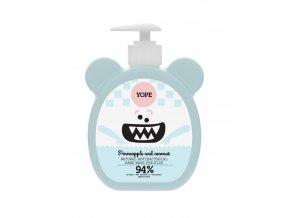 Yope Tekuté mýdlo na ruce pro děti antibakteriální 400 ml