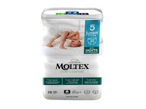 Moltex Pure & Nature Natahovacie plienkové kalhotky Junior 9-14  kg 20 ks