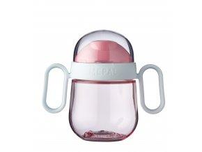 Mepal Detský trénovací hrnček Mio 200 ml Pink
