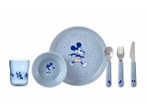 Mepal Dětská jídelní sada Mio 6 ks Mickey Mouse